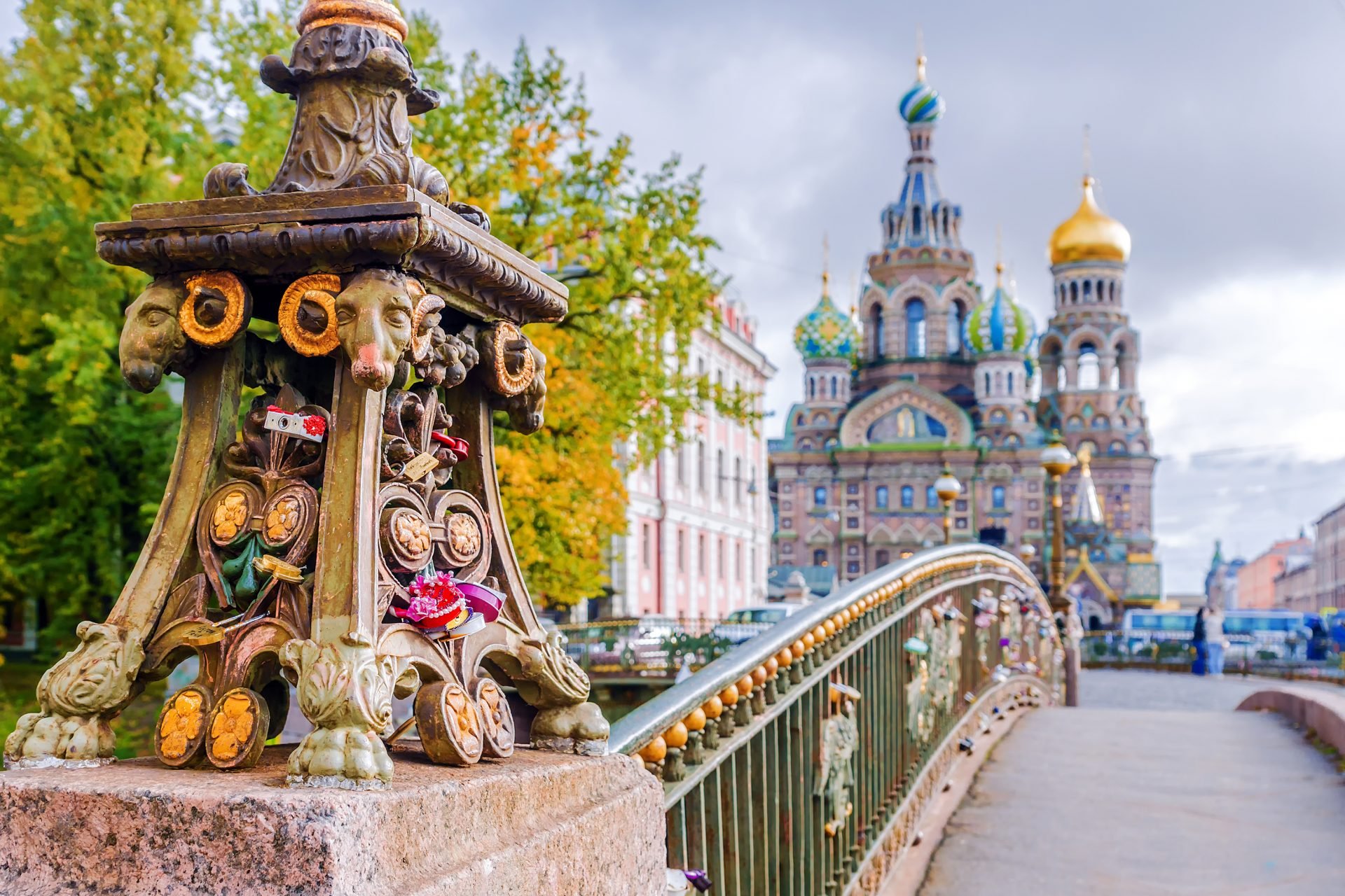 city trip - pont à St-Pétersbourg